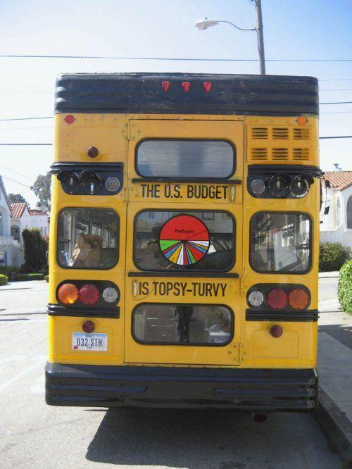 Необычный двухэтажный автобус - фото 9