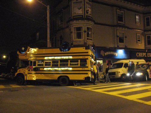 Необычный двухэтажный автобус - фото 3