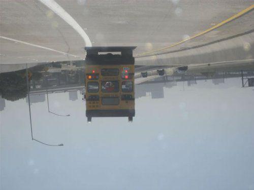 Необычный двухэтажный автобус - фото 8