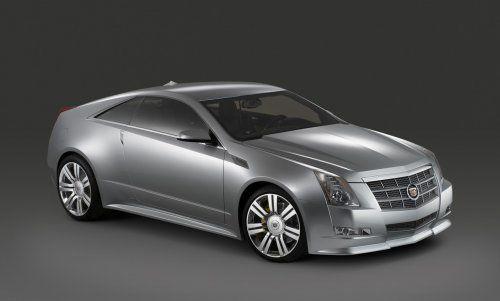Гараж Infocar: Cadillac CTS Coupe Concept - фото 8