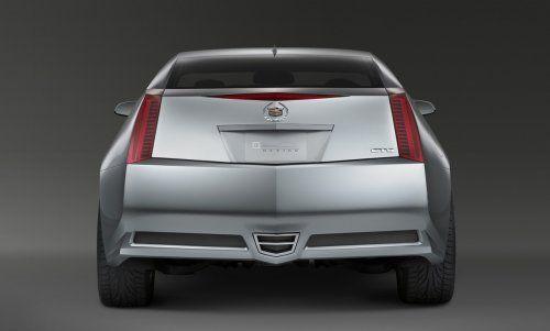 Гараж Infocar: Cadillac CTS Coupe Concept - фото 10