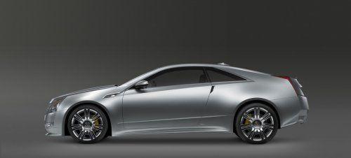 Гараж Infocar: Cadillac CTS Coupe Concept - фото 14