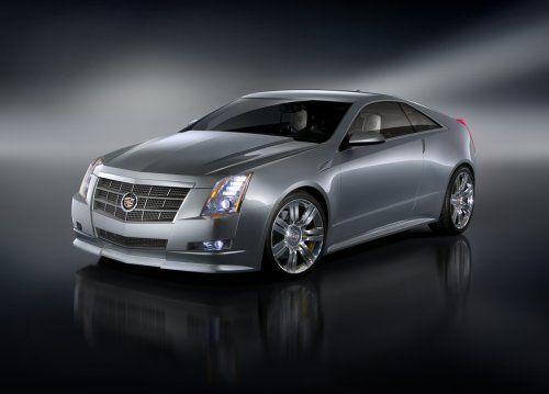 Гараж Infocar: Cadillac CTS Coupe Concept - фото 7