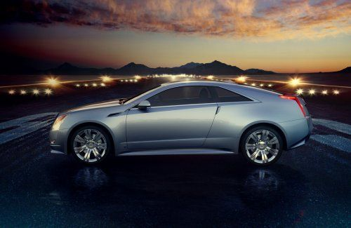 Гараж Infocar: Cadillac CTS Coupe Concept - фото 9