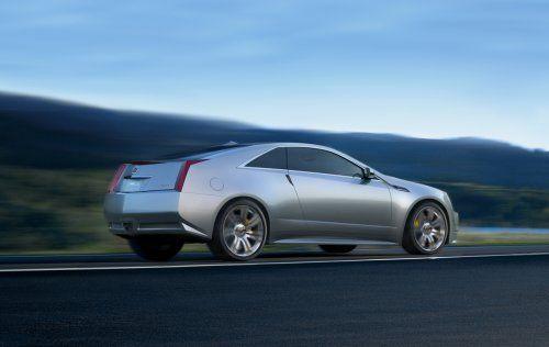 Гараж Infocar: Cadillac CTS Coupe Concept - фото 6