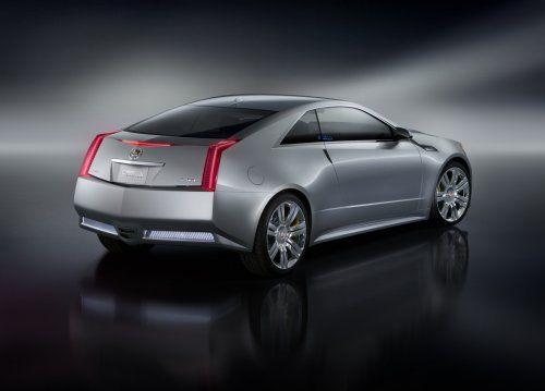 Гараж Infocar: Cadillac CTS Coupe Concept - фото 3