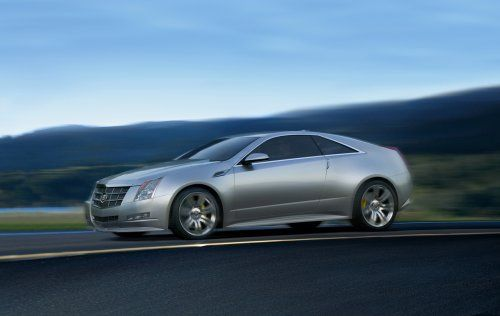 Гараж Infocar: Cadillac CTS Coupe Concept - фото 12