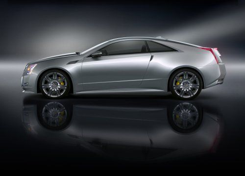 Гараж Infocar: Cadillac CTS Coupe Concept - фото 4