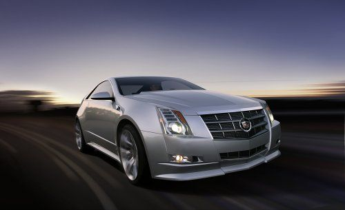 Гараж Infocar: Cadillac CTS Coupe Concept - фото 16