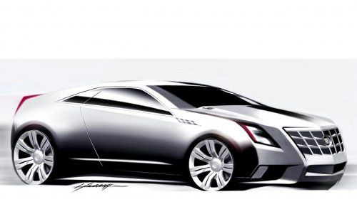 Гараж Infocar: Cadillac CTS Coupe Concept - фото 2