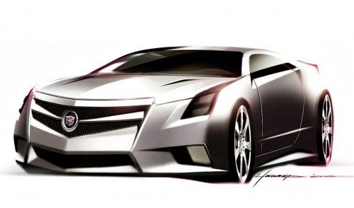 Гараж Infocar: Cadillac CTS Coupe Concept - фото 18