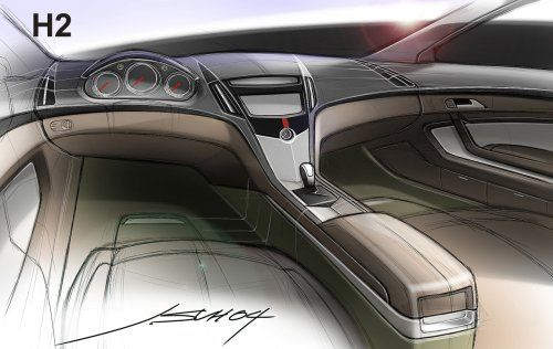 Гараж Infocar: Cadillac CTS Coupe Concept - фото 5