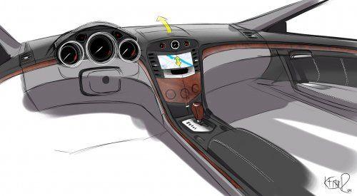 Гараж Infocar: Cadillac CTS Coupe Concept - фото 13