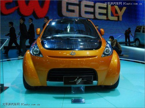 Шанхай 2009: Geely IG - фото 2