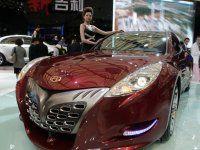 "Шанхай 2009: Geely GT ""Tiger"" - фото 15"