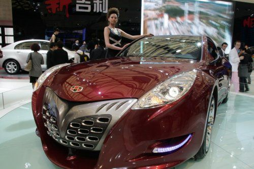 "Шанхай 2009: Geely GT ""Tiger"" - фото 6"