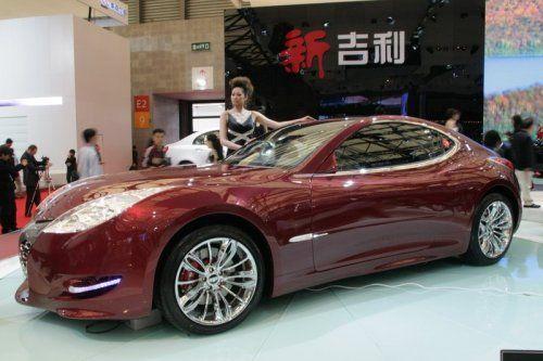 "Шанхай 2009: Geely GT ""Tiger"" - фото 14"
