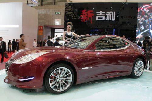 "Шанхай 2009: Geely GT ""Tiger"" - фото 10"