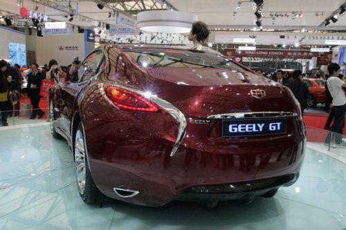 "Шанхай 2009: Geely GT ""Tiger"" - фото 5"