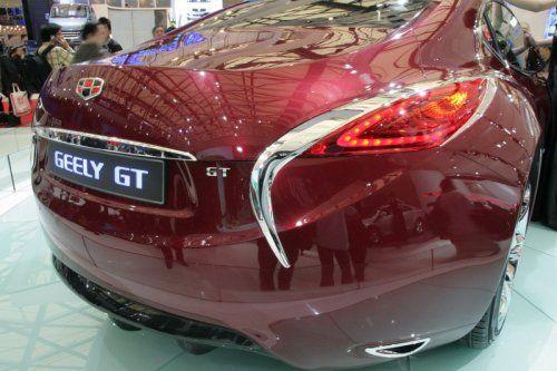 "Шанхай 2009: Geely GT ""Tiger"" - фото 7"