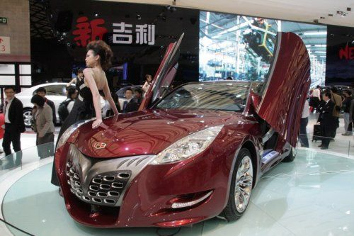 "Шанхай 2009: Geely GT ""Tiger"" - фото 9"
