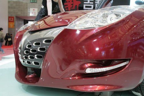 "Шанхай 2009: Geely GT ""Tiger"" - фото 11"