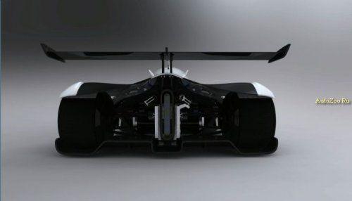 Один из первых электромобилей для гонок LeMans - фото 3