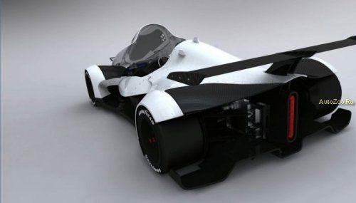Один из первых электромобилей для гонок LeMans - фото 2
