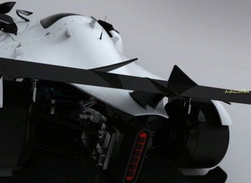 Один из первых электромобилей для гонок LeMans - фото 1