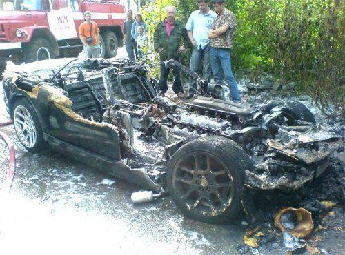 Авария c Dodge Viper в Костроме - фото 2