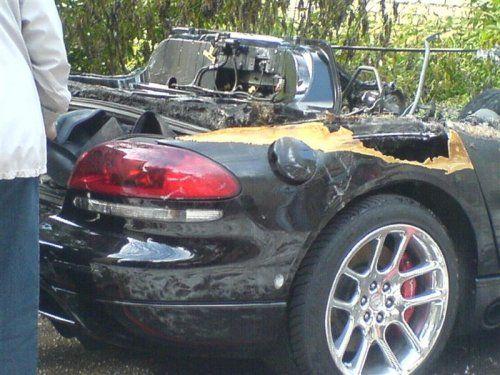 Авария c Dodge Viper в Костроме - фото 4