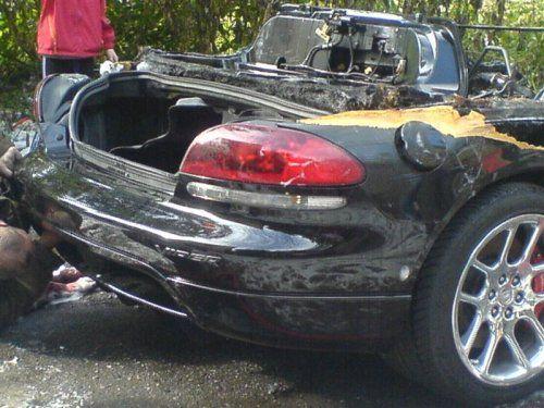 Авария c Dodge Viper в Костроме - фото 5
