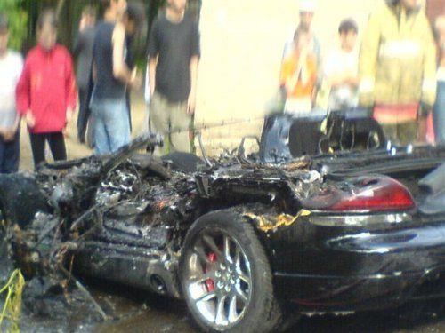 Авария c Dodge Viper в Костроме - фото 1