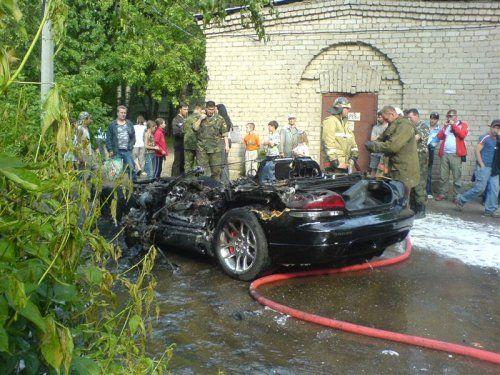 Авария c Dodge Viper в Костроме - фото 3