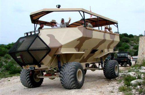 Машина для комфортной охоты  - фото 3