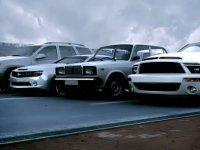 3D-форсаж: Shelby vs. Jeep vs. Camaro... vs. ВАЗ 2107! - фото 1