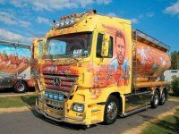 Потрясающее финское шоу грузовиков 2009 - фото 27