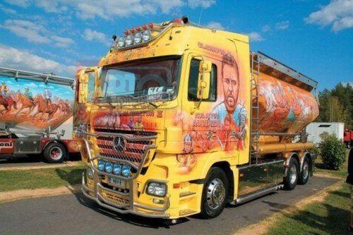 Потрясающее финское шоу грузовиков 2009 - фото 11