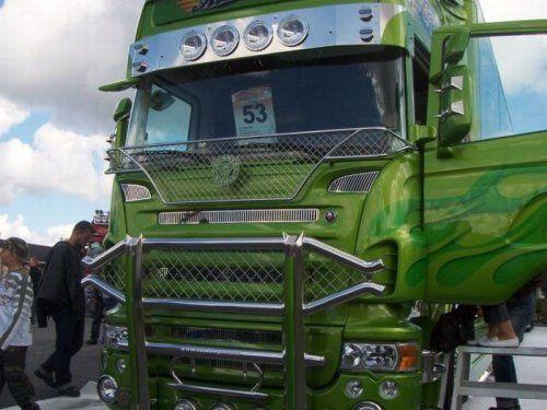 Потрясающее финское шоу грузовиков 2009 - фото 25