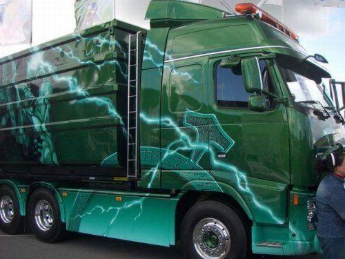 Потрясающее финское шоу грузовиков 2009 - фото 19