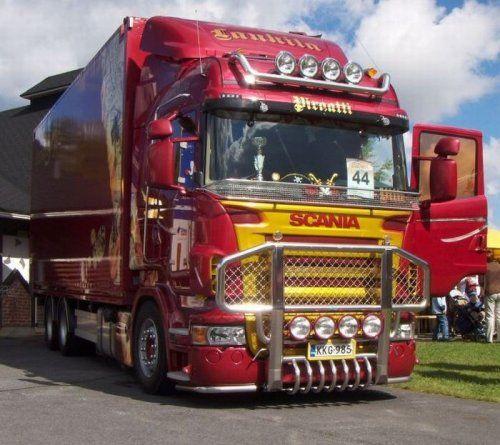 Потрясающее финское шоу грузовиков 2009 - фото 12