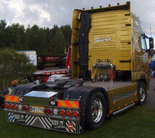 Потрясающее финское шоу грузовиков 2009 - фото 8