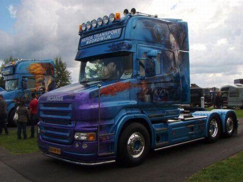 Потрясающее финское шоу грузовиков 2009 - фото 4