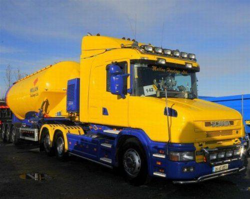 Потрясающее финское шоу грузовиков 2009 - фото 17