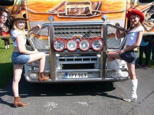 Потрясающее финское шоу грузовиков 2009 - фото 23