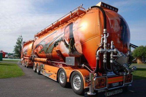 Потрясающее финское шоу грузовиков 2009 - фото 24