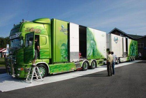Потрясающее финское шоу грузовиков 2009 - фото 6