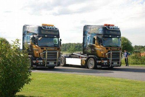 Потрясающее финское шоу грузовиков 2009 - фото 18