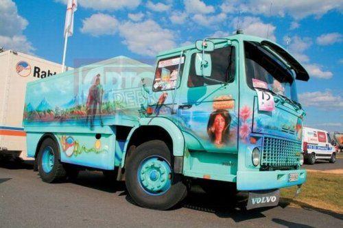 Потрясающее финское шоу грузовиков 2009 - фото 9
