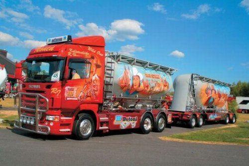 Потрясающее финское шоу грузовиков 2009 - фото 31